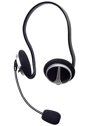 A4 TECH Hs-5P Kulaklık Mikrofonlu-Enseden Siyah